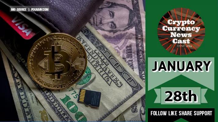 Crypto News Cast January 28th 2021 ?