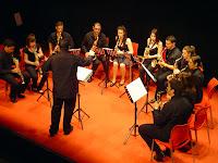 Ensemble de Saxofones del Conservatorio profesional Manuel de Falla de Alcorcón