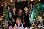 Pam Collier, Ann Harbuck, Suzette Payne, Anita Bickley, Clint Collier and Alice Link