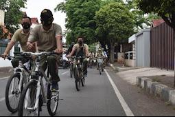 Menjaga Kebugaran Prajurit dan ASN, Kodim 0819 Pasuruan melakukan Gues Keliling Kota