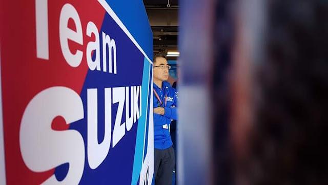 CEO Suzuki Datang Ke Garasi Tim Suzuki