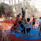 Water Play enjoyed by JR KG section ( 2016-17) at Witty World, Bangur Nagar