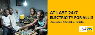MTN Nigeria in conjunction with worldwide reputable solar firm Lumos launches mobile electricity systems for households and businesses in the country