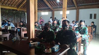 Batuud Koramil 15/Sanden Menghadiri Undangan Diskusi Penanganan Konflik Sosial Diwilayah Kabupaten Bantul