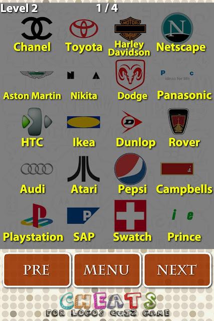 Miagoliamo Blog: Logos Quiz: Soluzioni livello 2