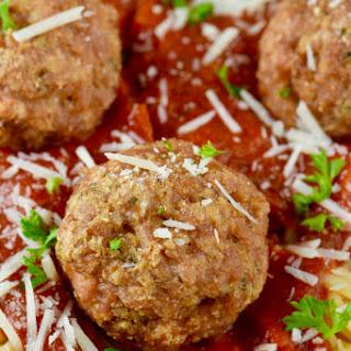 Healthy Meatballs.