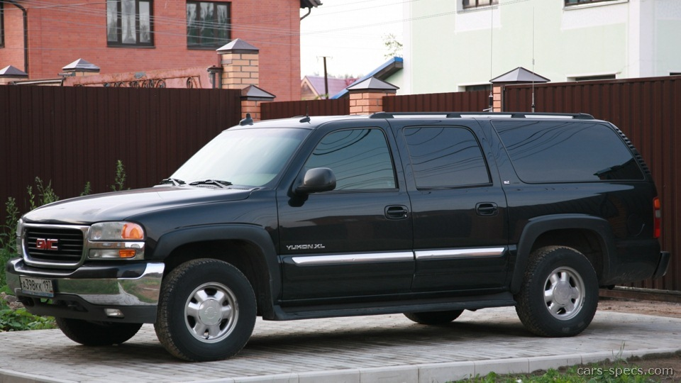 2002 GMC Yukon XL SUV Specifications Pictures Prices