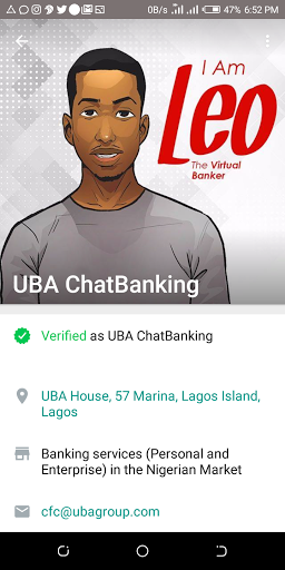 UBA Introduces Whatsapp Banking - Here's How To Start Using It 1