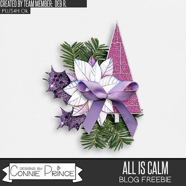 cap_DebR_AllIsCalm_cluster_freebie_preview