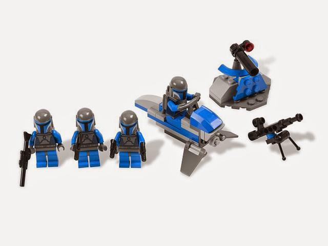 7914 レゴ スターウォーズ マンダロリアン バトルパック
