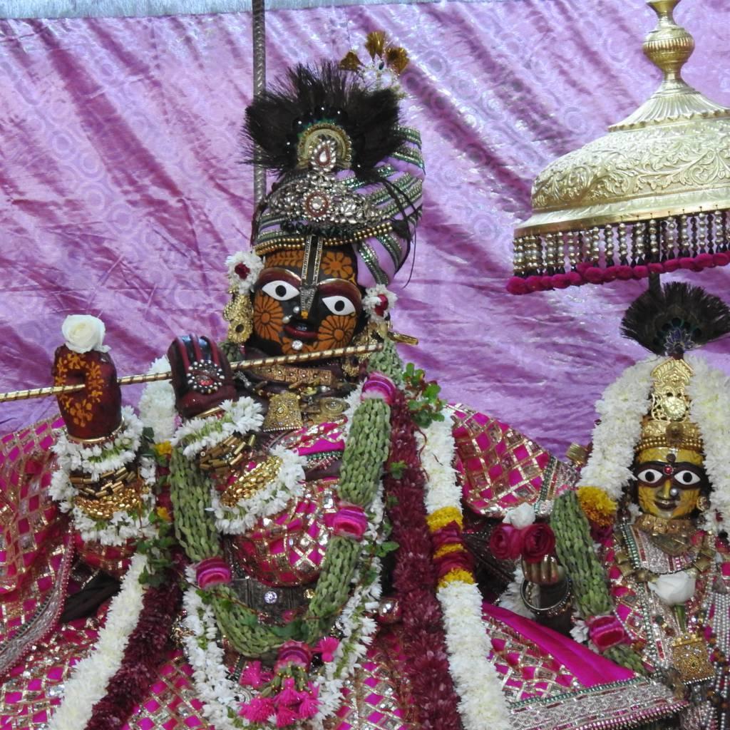 Radha Govind Devji Deity Darshan 20 Dec 2015 (4)