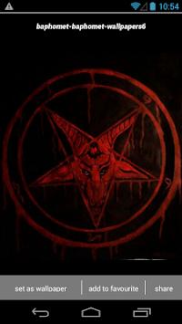 Baphomet Satanic Wallpapers HD Poster