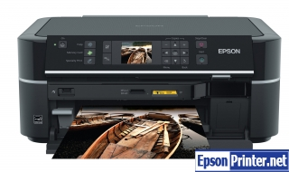 Reset Epson TX650 printing device with tool