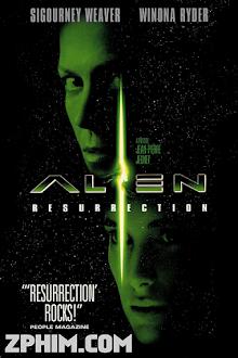 Quái Vật Không Gian 4: Tái Sinh - Alien: Resurrection (1997) Poster