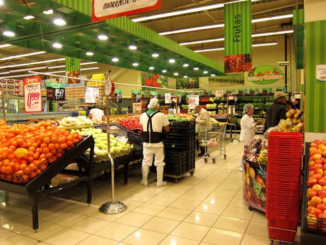 Supermarket in Trujillo