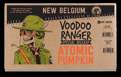 New Belgium Introduces Voodoo Ranger Atomic Pumpkin Ale