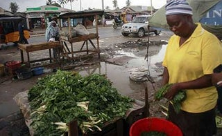 Bombolulu residents trade on the poor drainage systems. PHOTO NMG