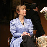 Benita Zahn and John Quinan in THE ROYAL FAMILY (R) - December 2011.  Property of The Schenectady Civic Players Theater Archive.