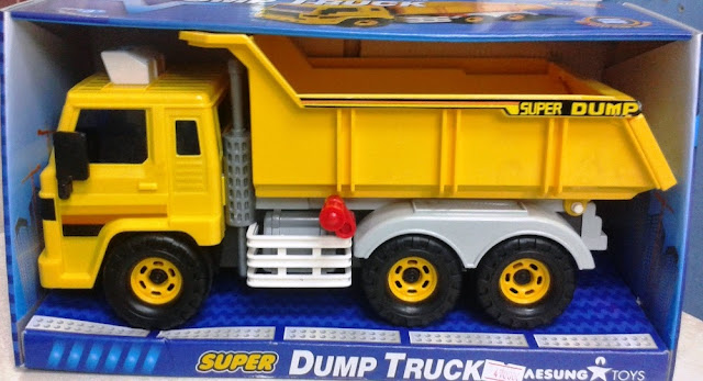 Đồ chơi Super Dump Truck Daesung DS-406 sản xuất tại Hàn Quốc