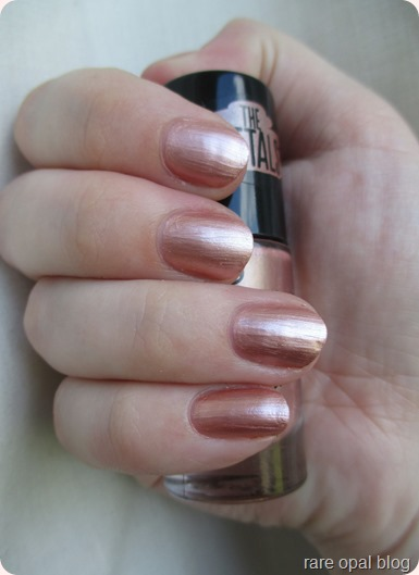Essence Cosmetics Rose Gold nail polish I Love Trends The Metals in Rose Beats