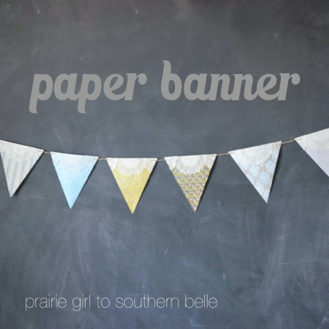 blogger image  1894088669 DIY Craft Project: Paper Banner