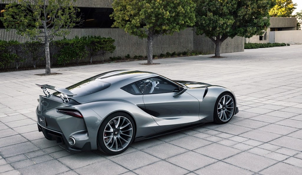 Toyota FT1 Concept New Supra Pebble Beach Monterey001