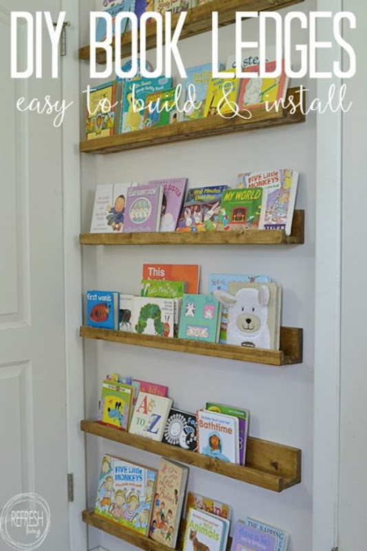 DIY-book-ledge-book-shelves-in-nursery-behind-a-door-550x825