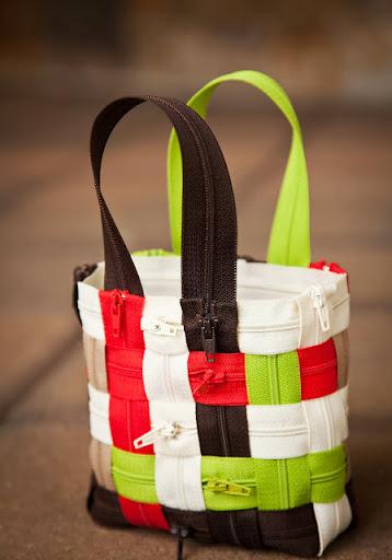 Bolsa com ziper