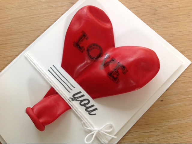 Stampin up Love you