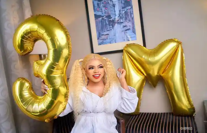 Bobrisky 3 Million Instagram Followers
