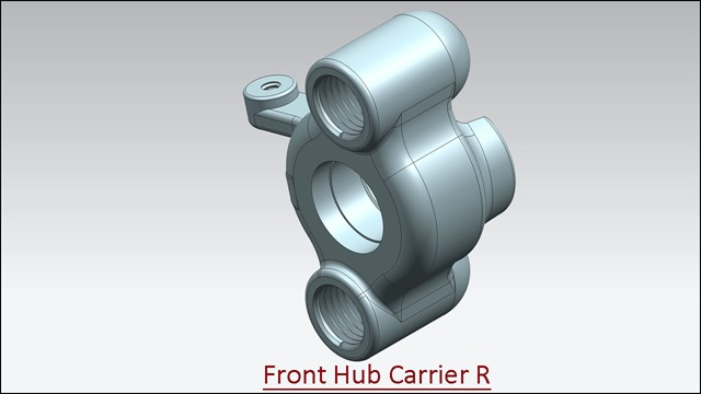 Front Hub Carrier R