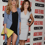 OIC - ENTSIMAGES.COM - Larna Parker and Sophie Rose attend the Age of Kill - VIP film Screening inLondon on the 1st April 2015.Photo Mobis Photos/OIC 0203 174 1069