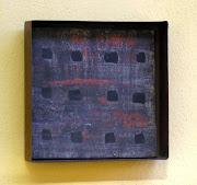 Fachada - 15x10x4 cm - ferro e cerâmica
