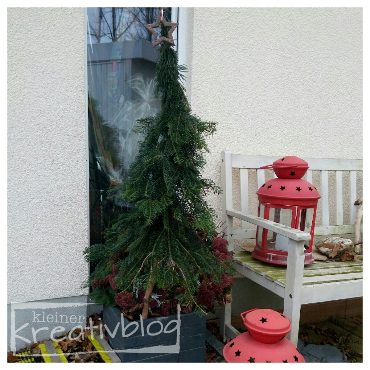 kleiner kreativblog weihnachtliche au endekoration. Black Bedroom Furniture Sets. Home Design Ideas