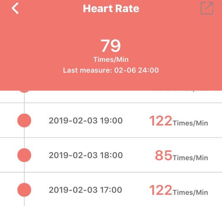 Wearfit verkeerde hartslagregistratie