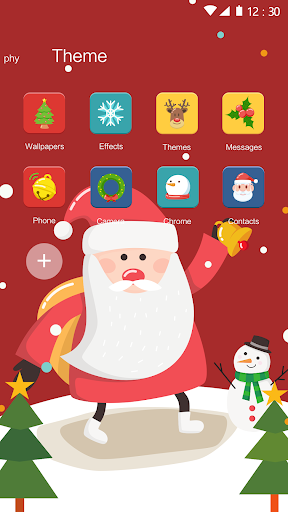 Christmas Theme: Santa Christmas Theme for Android hack tool