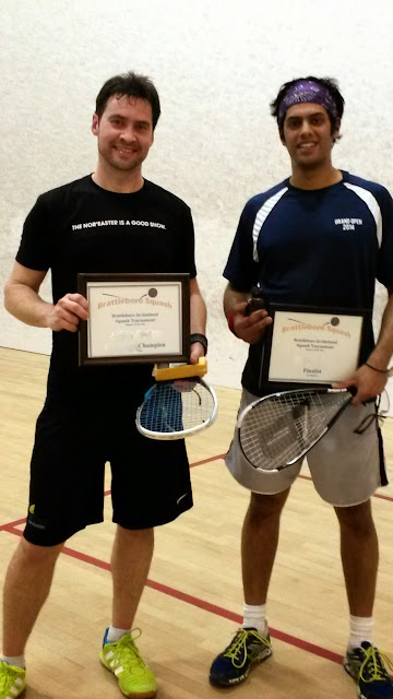 5.0 Finalists, Gary Gargan (Champion) and Tarit Roa-Chakravorti, Brattleboro, March 15th
