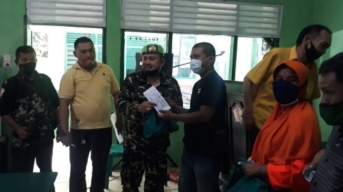 PPM Sumbar Bagikan Paket Lebaran untuk Jurnalis dan Kader