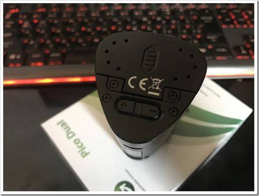 IMG 1550 thumb%25255B2%25255D - 【MOD】Eleaf Pico Dual 200Wレビュー!コンパクトパワー&Picoの使い心地が嬉しい初心者オススメハイワッテージMOD!【Pico】