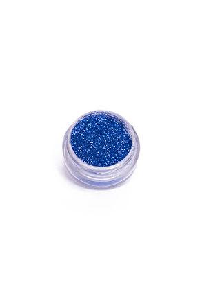 Kroppsglitter, blå 5 ml
