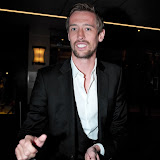 WWW.ENTSIMAGES.COM -   Peter Crouch  attend  Ledley King Testimonial Gala Dinner at London Hilton Park Lane, London May 8th 2013   as a sign of respect to former footballer and star of Tottenham Hotspur, is honoured for his sporting career                                           Photo Mobis Photos/OIC 0203 174 1069