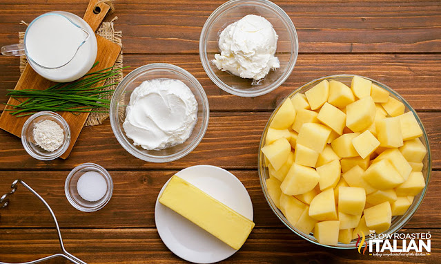 mashed potatoes with sour cream ingredients