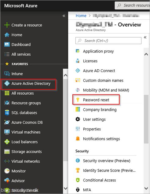 MINDCORE BLOG: Azure Active Directory (Azure AD) self