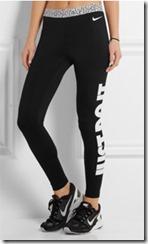 Nike Pro Warm black jersey leggings
