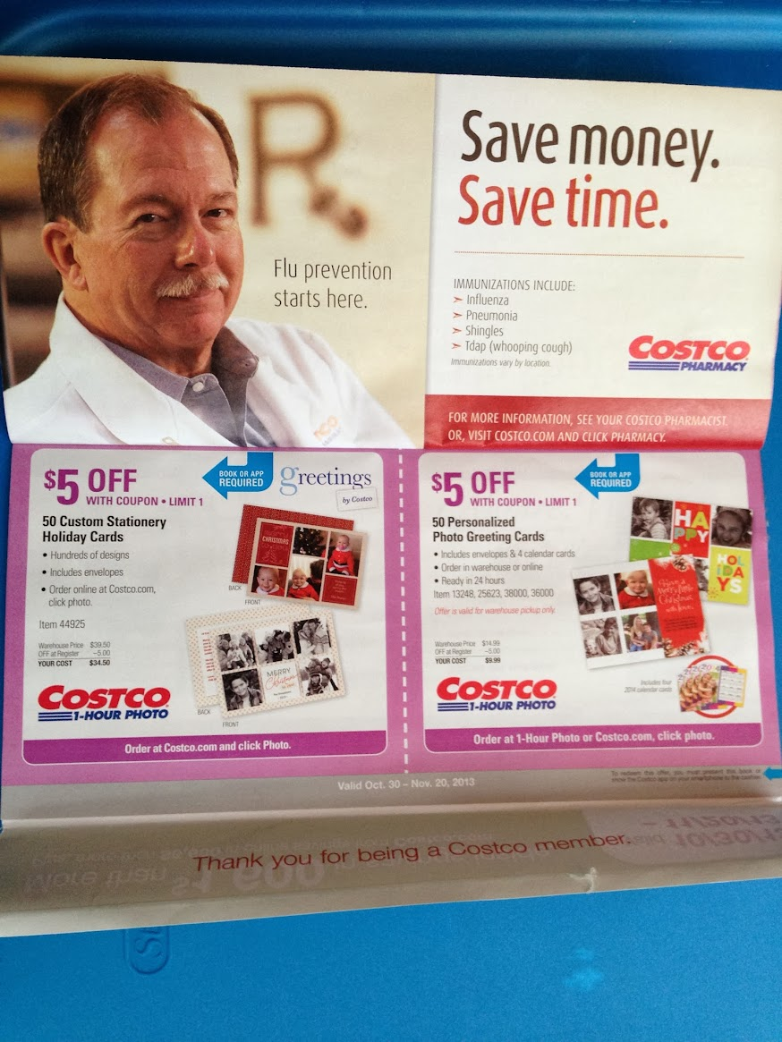 Costco coupon book october 30 november 20 2013 sharing is caring kristyandbryce Image collections