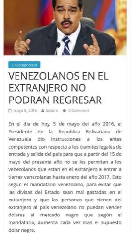 Carola315 venezolanos en el extranjero for Venezolanos en el exterior