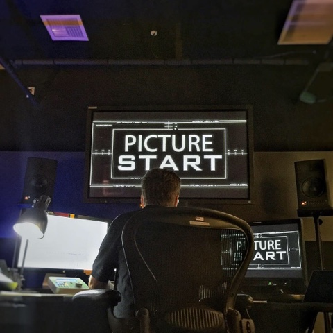 Rian Johnson editing The Last Jedi
