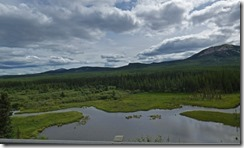 Yukon Territory between Watson Lake and Teslin