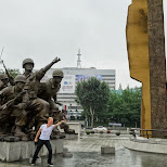 ok boys! let's do this at War Memorial of Korea in Seoul, Seoul Special City, South Korea