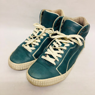 Alexander McQueen X Puma Blue High Tops